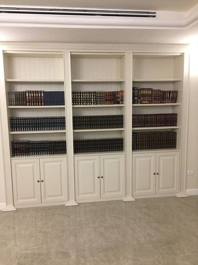 ספריות לסלון